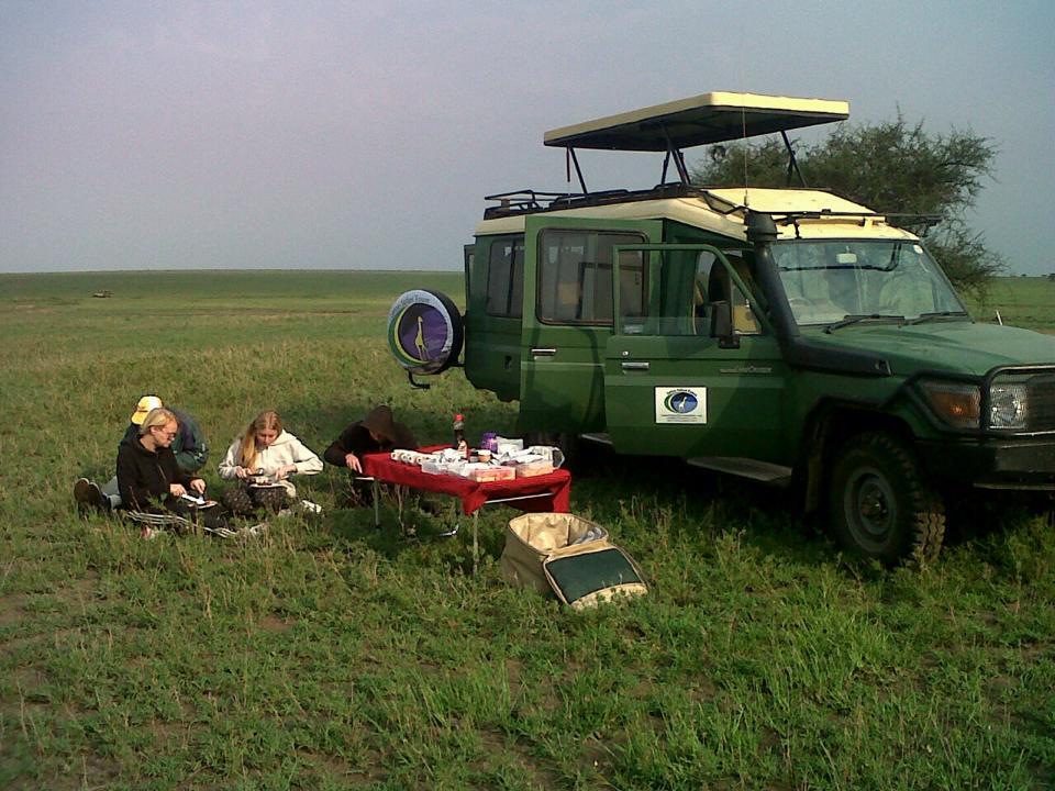 TZ-Ngorongoro picknick